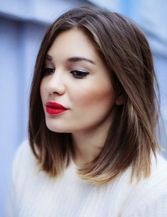 50+ Gorgeous Shoulder Length Haircuts   Women\'s Fashionizer